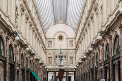 Royal Galeries of Saint Hubert Brussels Belgium Stock Images