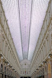 Royal Galeries of Saint Hubert Brussels Belgium. Royal Galleries of Saint-Hubert, the first shopping arcade in Europe and one of the most popular shopping areas Stock Images