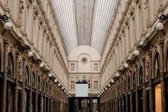 Royal galleries brussels. Royal galleries in brussels, heart of Europe Stock Image