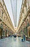 Royal galleries of Saint-Hubert, Brussels. Inside of the royal galleries of saint hubert, Brussels, Belgium Stock Image