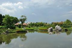 Royal garden Royalty Free Stock Photo