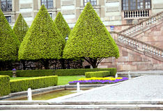 Royal garden. In a Royal residence in Stockholm Stock Photo