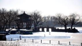 Royal Garden in Beijing Royalty Free Stock Photo