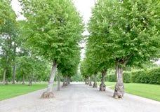 The royal garden of Drottningholms Palace Royalty Free Stock Photos