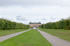 The royal garden of Drottningholms Palace Stock Photos