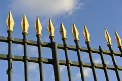 Royal Garden Fence Stock Photos