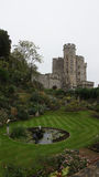 Royal Garden moat in Windsor Castle Stock Images