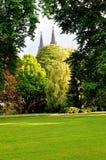 Royal Garden in Prague Stock Photography