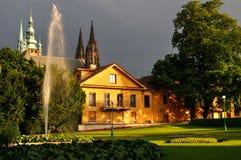 Royal Garden in Prague Stock Photos