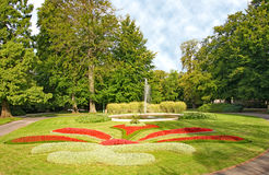 Royal Garden in the Prague Castle Royalty Free Stock Photos