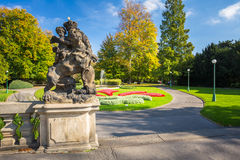 Royal Garden in Prague, Czech Republic Stock Photo