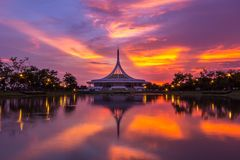 Royal garden Rama IX Stock Images