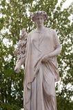 Modern statues park Venaria Turin, Italy. Royal gardens. Reggia di Venaria Reale. Italy stock photography