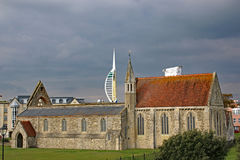 Royal Garrison Church, Portsmouth Royalty Free Stock Photos