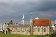Royal Garrison Church, Portsmouth Stock Image