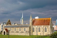 Royal Garrison Church, Portsmouth Royalty Free Stock Photography