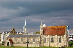 Royal Garrison Church, Portsmouth Stock Photo