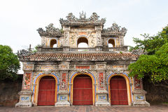 Royal gate in Hue, Vietnam Stock Image