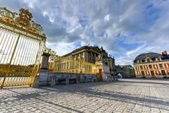 Royal Gates of Versailles Palace Royalty Free Stock Photography