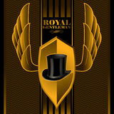 Royal gentleman background Royalty Free Stock Photo