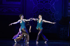 """Royal gigolos- ballet """"One Thousand and One Nights"""" Stock Photography"""