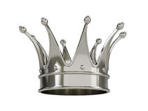 Royal gold crown isolated Royalty Free Stock Image