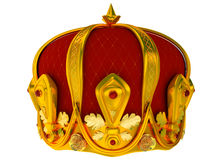 Royal gold crown Royalty Free Stock Photos