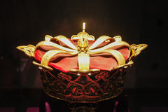 Royal Gold Crown Stock Image