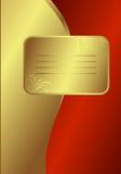 Royal Golden Card vector illustration