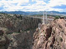 Royal Gorge bridge Stock Photography