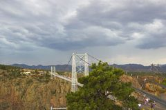 Royal Gorge bridge Stock Photo