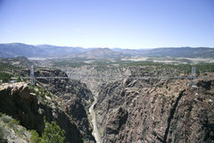 Royal Gorge bridge Royalty Free Stock Photo