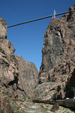 Royal gorge bridge, Colorado Royalty Free Stock Photography