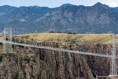 Royal gorge bridge colorado stock photography