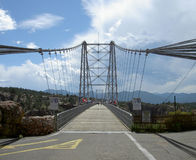Royal Gorge bridge Stock Photos