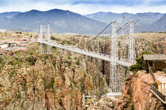 Royal Gorge Suspension Bridge Stock Photos