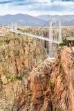 Royal Gorge Suspension Bridge Royalty Free Stock Images
