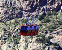 Royal Gorge trams Stock Photo
