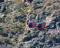 Royal Gorge trams Stock Photos