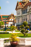 Royal grand palace in Bangkok, Asia Thailand Royalty Free Stock Photography