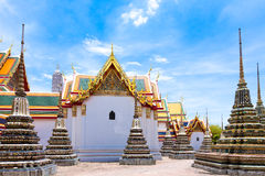 Royal Grand Palace in Bangkok, Asia Thailand Royalty Free Stock Images