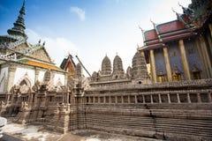 Royal grand palace in Bangkok Royalty Free Stock Photos