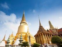 Royal grand palace in Bangkok Stock Photos