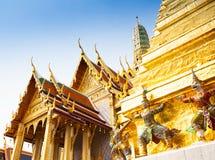 Royal grand palace in Bangkok Royalty Free Stock Photo