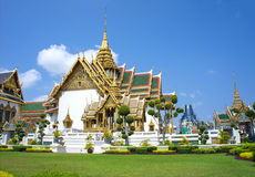 Royal grand palace in Bangkok, Thailand Stock Image