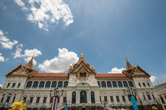 Royal grand palace in Bangkok. Royalty Free Stock Photos
