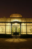 Royal greenhouse at night Stock Photos