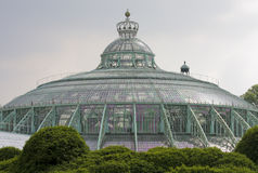 Royal Greenhouses in Brussels Royalty Free Stock Images