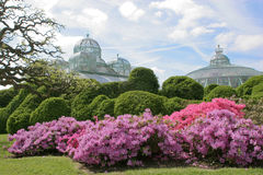 The Royal Greenhouses in Laeken Stock Photos