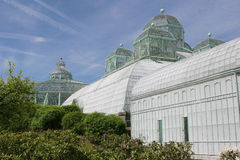 The royal greenhouses in Laeken Stock Photo